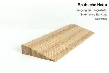 Türschwellenrampen aus Holz - Oberfläche Holzöl (klar)