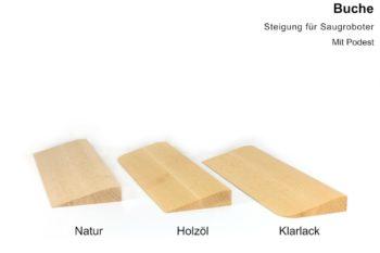 Türschwellenrampen aus Holz - Buche